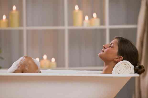 お風呂の温度、何度?