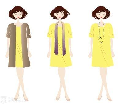 貴女の、体型をカバーする洋服選びのコツを教えてください。
