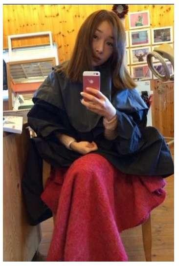 加護亜依がヘアスタイルをチェンジ 「こんなに明るくしたの初めて」