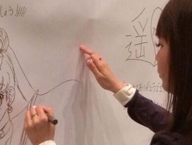 """""""しょこたん""""こと中川翔子さんが描いたセーラームーンのイラスト、上手すぎぱねええwwwwwwwwwww : オレ的ゲーム速報@刃"""