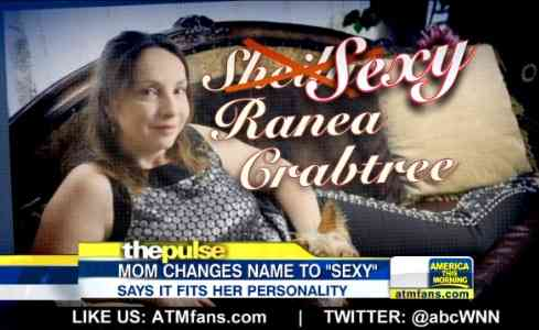 """41歳女性が名前を""""Sexy""""へ改名"""
