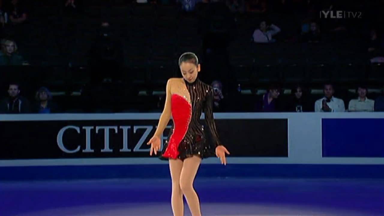 Mao Asada - Closing Gala - 2009 World Figure Skating Championships - YouTube