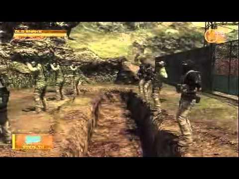 MGS4 珍プレイ集 ~無能な兵士~ - YouTube