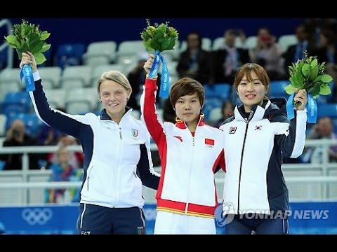 Valuable Sports Spirit that not give up(Park Seung-hi(박승희) women's 500M short track in 2014 Sochi) - YouTube