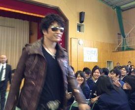 卒業式に「GACKT」が来た!!!!