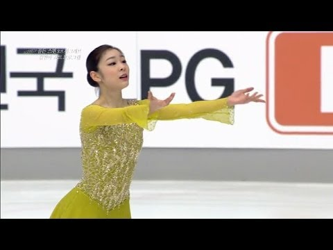 Yuna Kim - Send in the Clowns, 김연아 쇼트프로그램, 20131206 - YouTube
