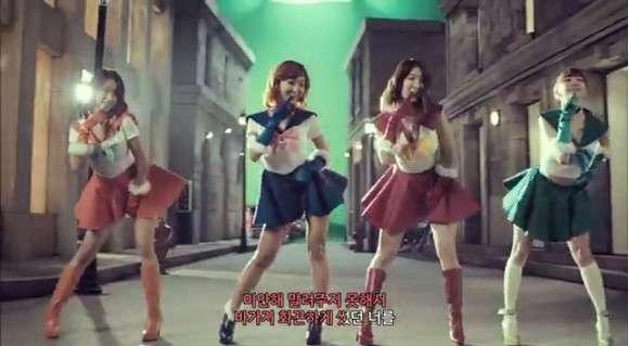 韓国アイドルグループが実写版セーラームーンにチャレンジ!再現度は高くないが「これはアリ」と話題 | ロケットニュース24