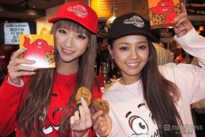 日本酒ギャル&人気モデルがキュートな姿に変身 日本初上陸を祝福 - モデルプレス