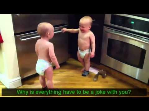 双子の赤ちゃんの会話Part1.flv - YouTube