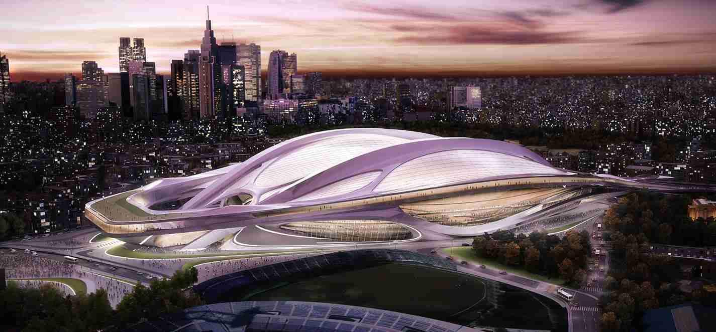 「まるで巨大な女性器」東京五輪・新国立競技場の女性建築家、カタールのW杯競技場でも物議