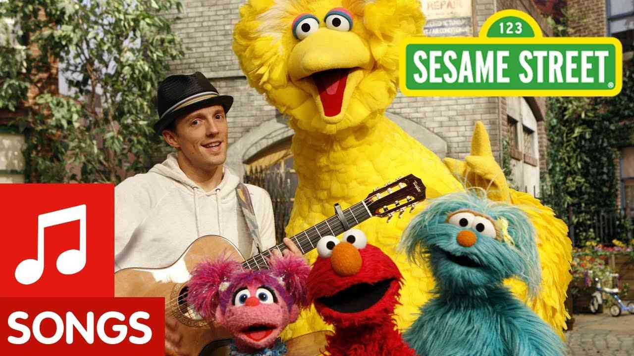 Sesame Street: Outdoors with Jason Mraz - YouTube