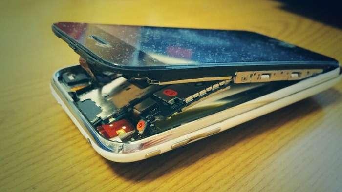 コタツの上にiPhone放置した結果が衝撃的すぎるwww