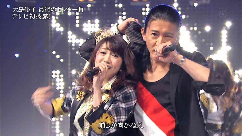 [HD] AKB48 ŠḾÁP - 前しか向かねえ LIVE 大島優子センター SKE48 NMB48 HKT48 - YouTube