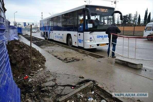 ソチオリンピック開幕15日前、ソチの状態がひどすぎる : おそロシ庵