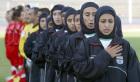 サッカーのイラン女子代表メンバー 4人が男だった: The Voice of Russia