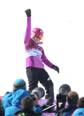 ソチオリンピック Yahoo! JAPAN - 竹内智香 銀メダル!スノボー女子初の快挙も痛恨の転倒(スポニチアネックス)