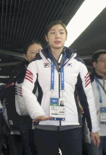 金ヨナ「日米の選手じゃなくて良かった」と本音 : スケート : ソチ五輪2014 : 五輪 :  YOMIURI ONLINE(読売新聞)