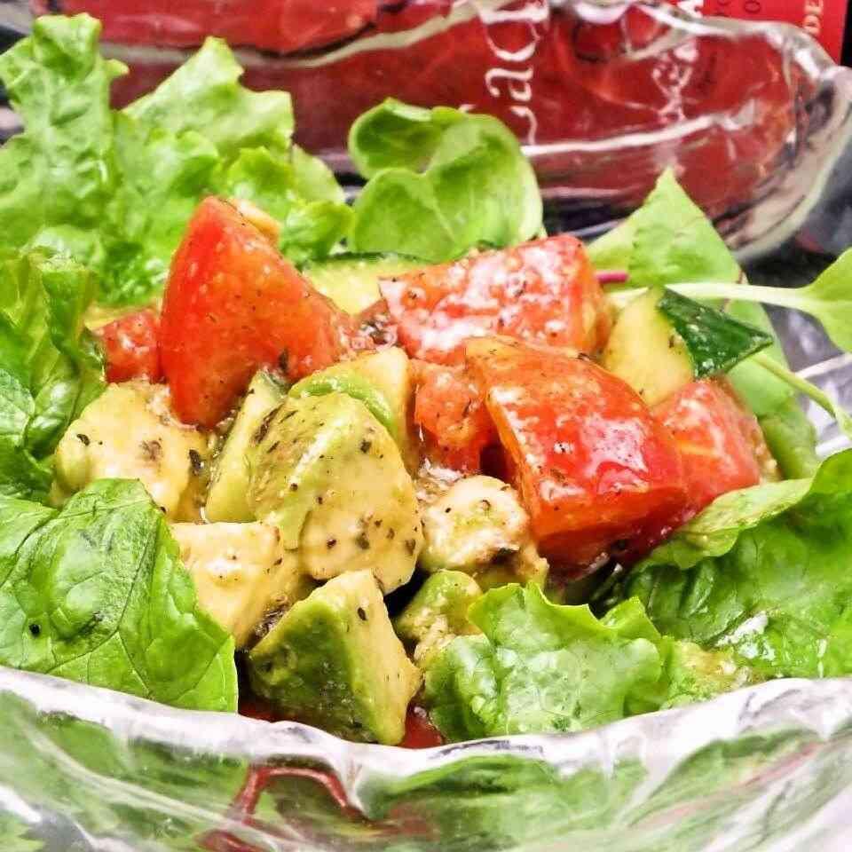 おすすめサラダのレシピ!