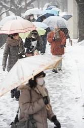 【天気】東京都心でも積雪 16年ぶりの大雪の恐れ