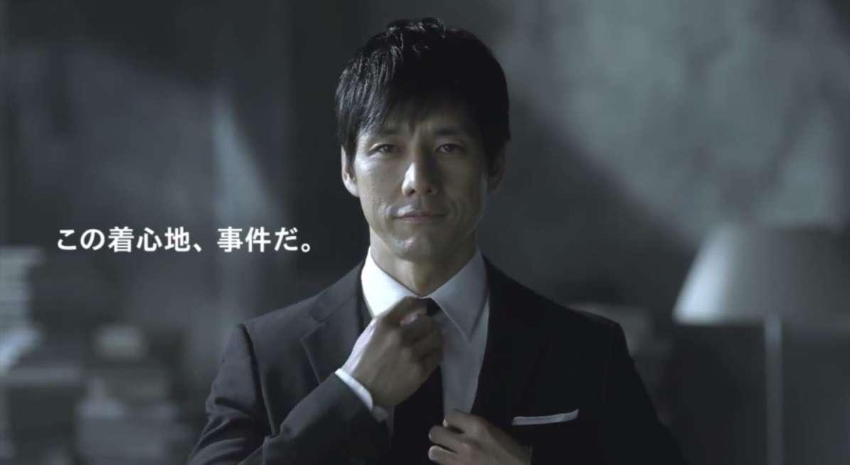 西島秀俊、下着ブランド「グンゼ」の新CMに起用!セクシーすぎる件