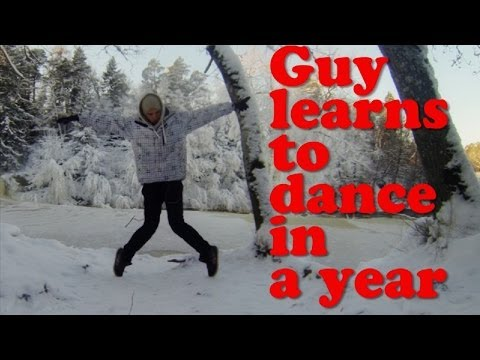 Guy learns to dance in a year (TIME LAPSE) - YouTube