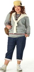 検索結果【ニッセン】ぽっちゃりモデルが着てみました