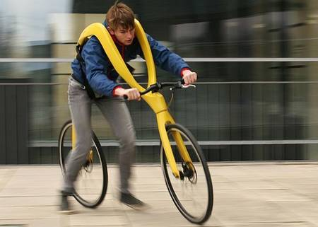 街の視線を独占できる画期的な自転車が話題にww