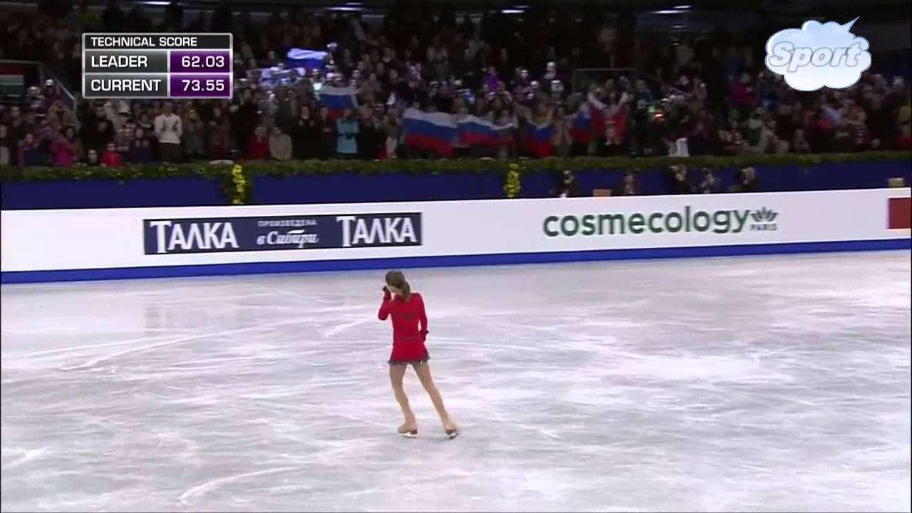 ユリア・リプニツカヤ LP 2014 ヨーロッパフィギュアスケート選手権 - YouTube