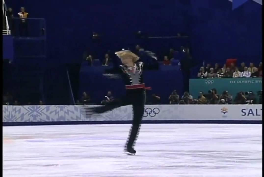 【やけくそカルメン】プルシェンコ 2002 オリンピック FS Plushenko - YouTube