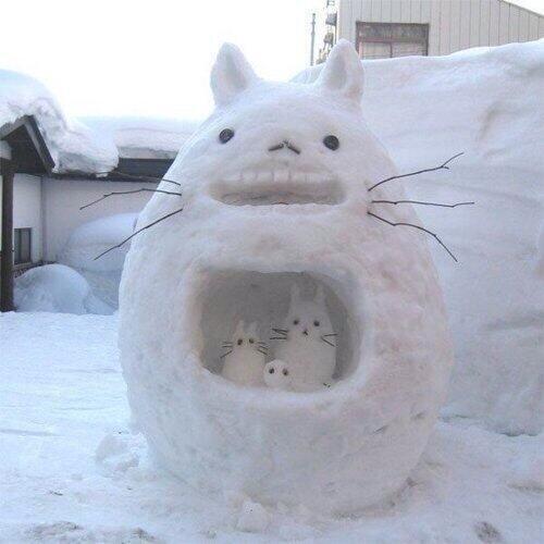 【関東雪まつり】大雪で雪だるま職人が続々出現!クオリティ高すぎ!