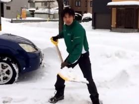 スグ実践できる疲れにくい雪かきのコツ - 動画 - Yahoo!映像トピックス