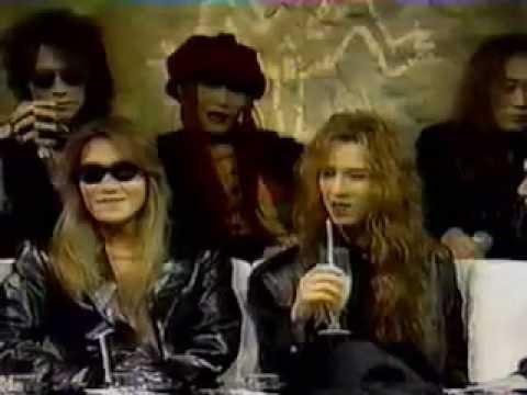 X JAPAN Talk,93 - YouTube