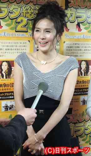 杉本彩、不整脈で救急搬送もイベント出席 - 芸能ニュース : nikkansports.com