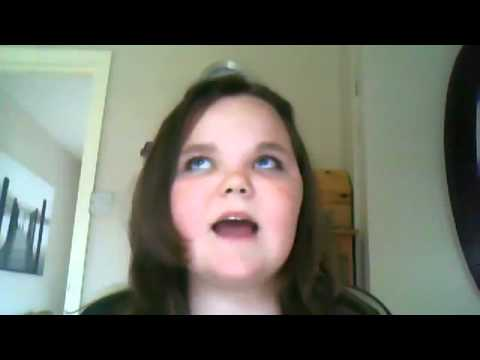 PSYCHO GIRL tries to sing I will always love you - YouTube