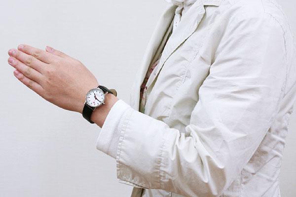 腕時計する派?しない派?