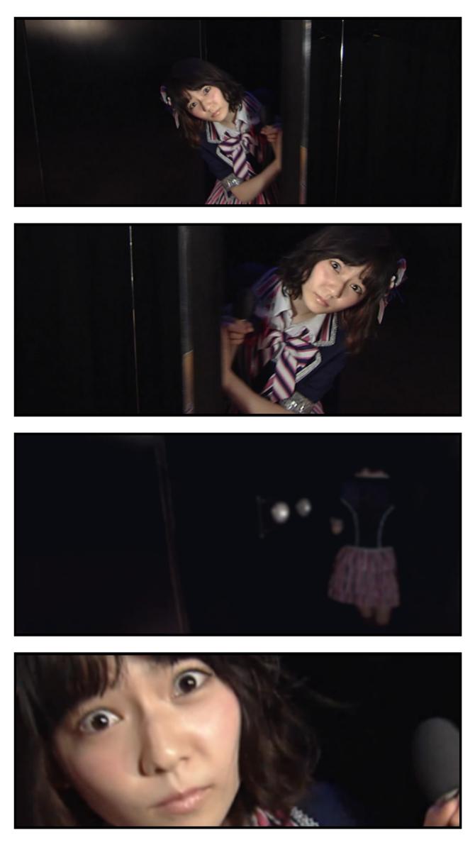 ぱるること島崎遥香の写真が何か怖いと話題に