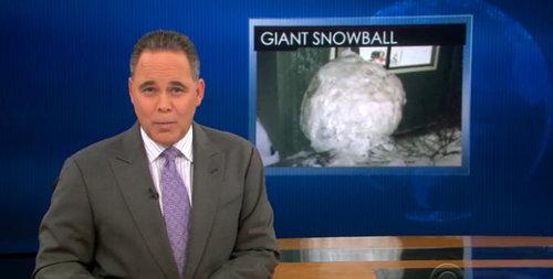 アメリカの学生が雪だるまを作ろうとした結果wwwスケールが違いすぎるw