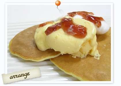 バニラアイスの自分流な食べ方 「きな粉をかけて食べる」