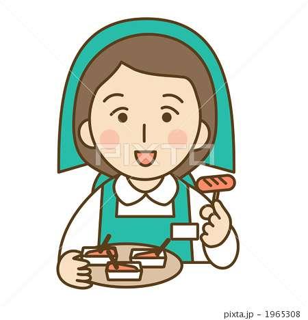 試食、食べますか?