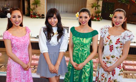 元AKB48河西智美、福島県いわき市でフラガールと再会