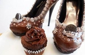 """本物と見まがうほどソックリな """"ケーキの靴"""" !? ヒールからアイスがとろ~り... - えん食べ"""
