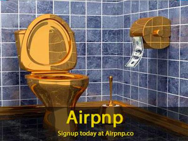 家のトイレをレンタルする新サービス『AirPnP』…トイレを借りたい人と貸したい人をマッチング!