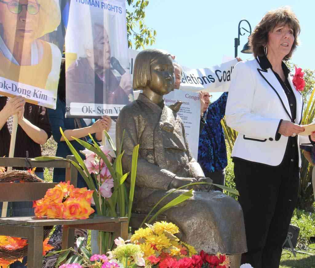 グレンデール市、争う姿勢 米加州の慰安婦像訴訟 - MSN産経フォト