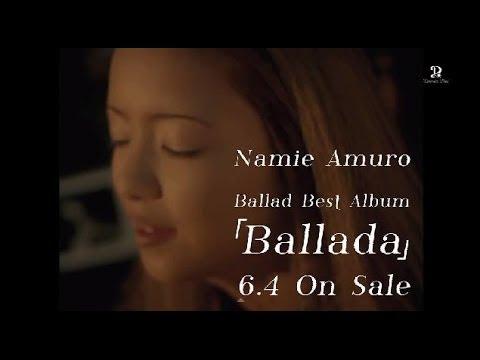 安室奈美恵 / Ballad Best Album 『Ballada』 -TEASER SPOT- - YouTube