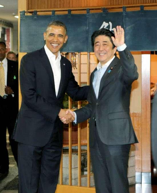 オバマ大統領「人生で一番おいしいすしだった」