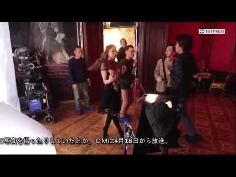 安室奈美恵、CMでライオンと共演 - YouTube