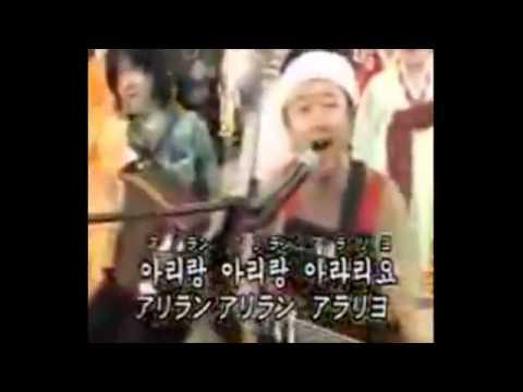 アリランを歌う桑田佳祐 キムチ最高!! - YouTube