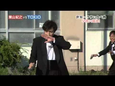 2012.7.22 ザ!鉄腕!DASH!! シュールストレミング - YouTube