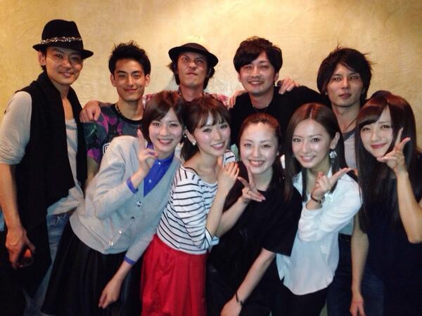 TVドラマ『セーラームーン』メンバーが集結!北川景子が久々のマーズポーズに
