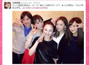TVドラマ『セーラームーン』メンバーが集結!北川景子が久々のマーズポーズに - ゲーム&アニメ - ニュース - クランクイン!